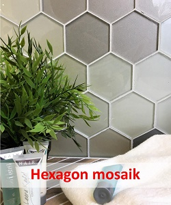 Her finder du hexagon mosaik